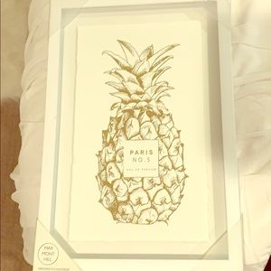 Other - Pineapple wall art
